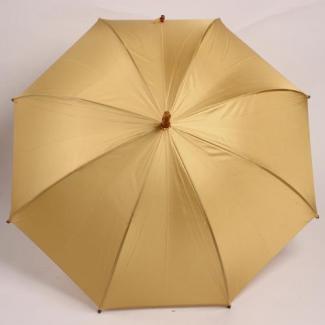 【WAKAO】深張り 寒竹手元 ライトオレンジ レディース雨傘 60cm