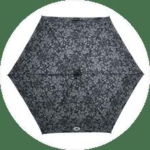 【CONVERSE】コンバース キッズ ブランド 55cm 折りたたみ雨傘 ブラック