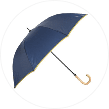 【innovator】Aジャンプ 耐風骨雨傘 65cm 男女兼用 ネイビー