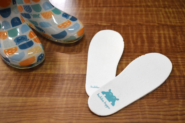 長靴のインソール