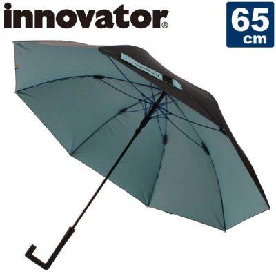 【innovator】ユニセックス・メンズ Aジャンプ傘 雨晴兼用 65cm 男女兼用