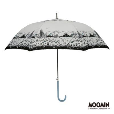 【MOOMIN】キャラクターアンブレラ 60cm ジャンプ ムーミン/おさんぽ