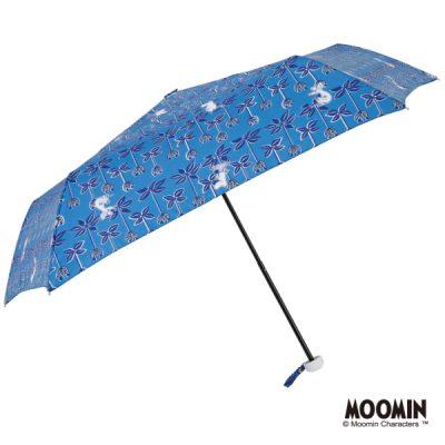 【MOOMIN】キャラクターアンブレラ 折りたたみ 55cm ムーミン/ブルーミングメイズ