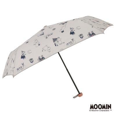 【MOOMIN】キャラクターアンブレラ 折りたたみ 55cm ムーミン/恋するムーミン