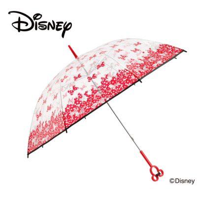 【Disney】キャラクターフレームアンブレラ 60cm 手開き ミニー/メニーリボン