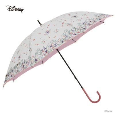 【Disney】キャラクターパラソル 晴雨兼用日傘 50cm 白雪姫/ボタニカルフラワー【One's Plus】