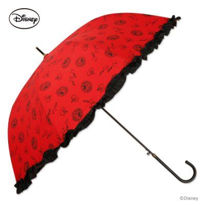 【WEB限定】【Disney】キャラクターアンブレラ 60cm ミニーマウス