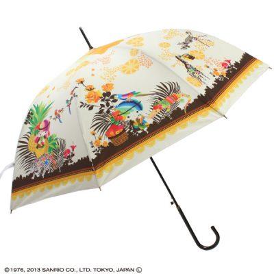 【Sanrio】リトルツインスターズ レディースアンブレラ 60cm トロピカル