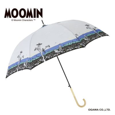 【MOOMIN】キャラクターアンブレラ 60cm ジャンプ ムーミン/ねころび