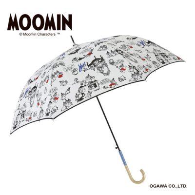 【MOOMIN】キャラクターアンブレラ 60cm ジャンプ リトルミイ/きょうだいたち