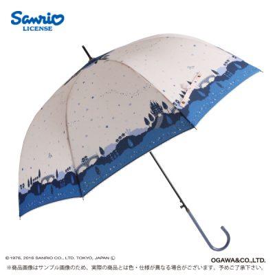【Sanrio】キャラクターアンブレラ 60cm リトルツインスターズ ファンタジーワールド