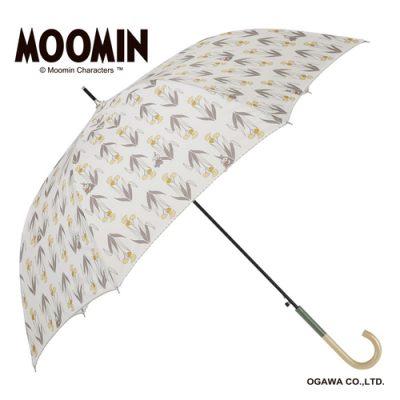 【MOOMIN】キャラクターアンブレラ 60cm ジャンプ リトルミイ/ふわふわの花