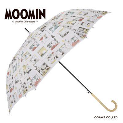 【MOOMIN】キャラクターアンブレラ 60cm ジャンプ ムーミン/フレーム
