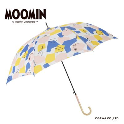 【MOOMIN(ムーミン)】キャラクターアンブレラ 60cm ジャンプ ムーミン/シェイプス
