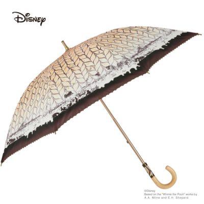 【LINEDROPS】【Disney】キャンバスパラソル 日傘 50cm くまのプーさん/森の仲間たち