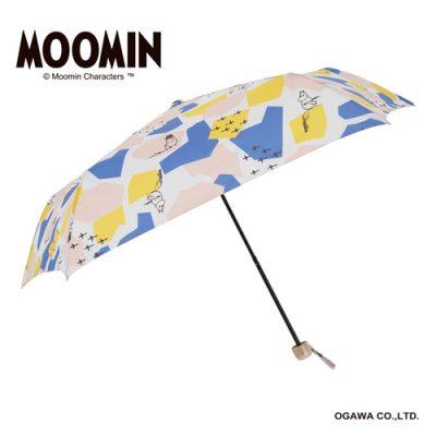 【MOOMIN】キャラクターアンブレラ 折りたたみ 55cm ムーミン/シェイプス
