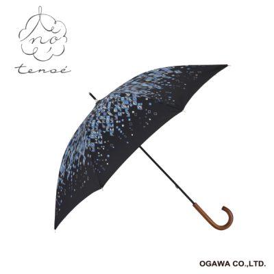【tenoe(テノエ) CASUAL】レディース 晴雨兼用日傘 50cm 朝露キラキラ