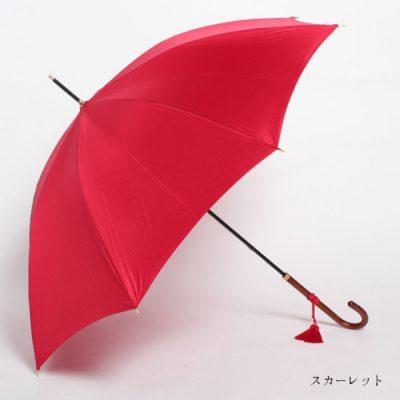 【WAKAO】合板手元 スリム レディース雨傘 55cm