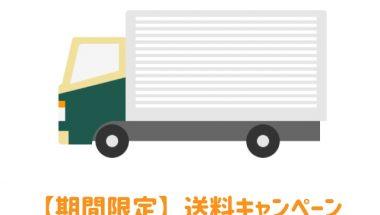 【6月30日まで】送料キャンペーン開催中(高額購入割引特典)