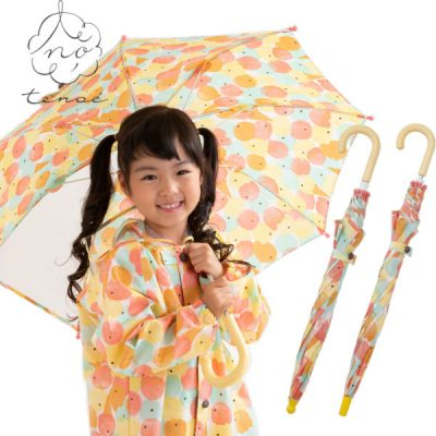 オンラインショップ限定 tenoe(テノエ) CASUALのキッズ雨晴兼用雨傘【ひとりじめアイス】