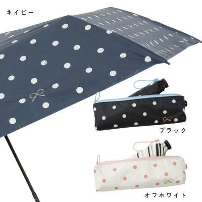 【送料込】LINEDROPS×R.O.U限定販売 晴雨兼用折りたたみ傘【ドロップの贈り物】
