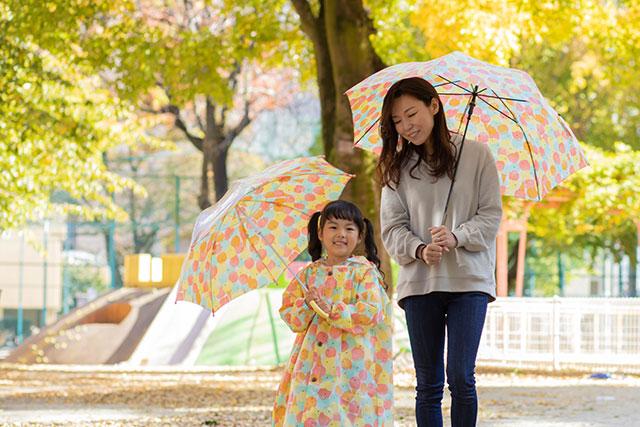 親子でお揃いの傘_テノエ